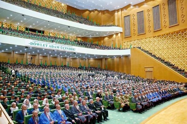 25 сентября в Ашхабаде пройдёт заседание Халк Маслахаты Туркменистана