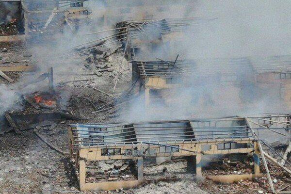 Произошел взрыв на фабрике фейерверков в Турции