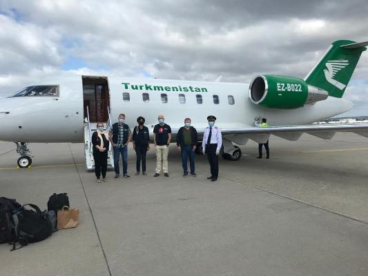 Миссия ВОЗ прибыла в Туркменистан