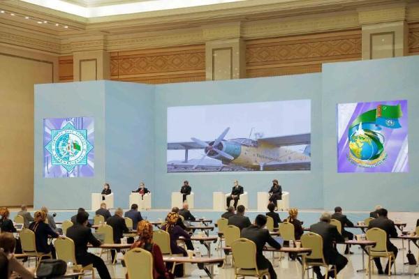 BSGG-niň hünärmenleri COVID-19-y duýdurmakda Türkmenistana gymmatly goldaw berdiler - ministr