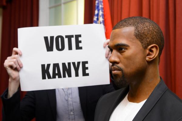 Рэпер Канье Уэст стал кандидатом в президенты США