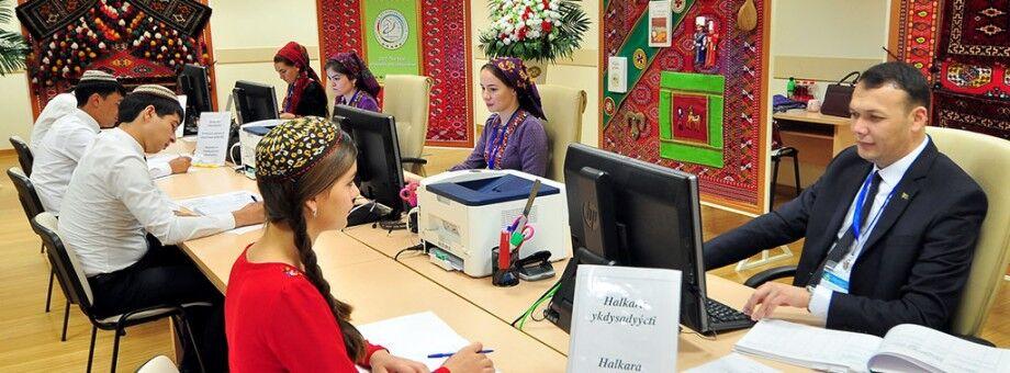 Türkmenistanda ÝOM-lara giriş möwsümi 21-nji awgusta çenli uzaldyldy