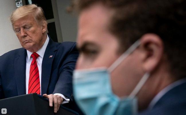 Трамп не рассматривает возможность обязательного  ношения масок в США