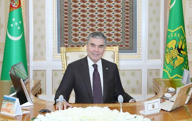 Бердымухамедов в разговоре с Вице-президентом ОАЭ призвал объединить усилия в борьбе с COVID-19