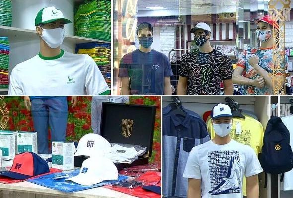 Отечественные бренды выпустили линии одежды с защитными масками
