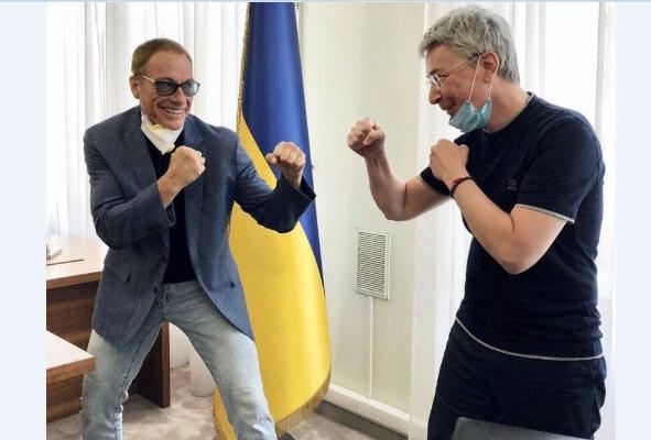 Netflix снимает в Киеве фильм с Ван Даммом