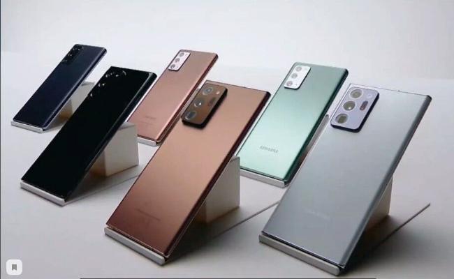 Samsung презентовал новые модели смартфонов