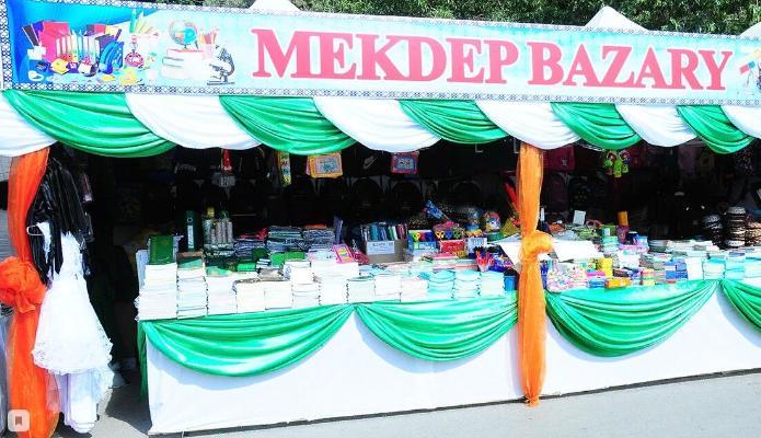 410 школьных базаров открылись в Туркменистане