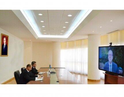 Главы МИД и МЗиМП Туркменистана провели онлайн-встречу с главой ЕРБ ВОЗ