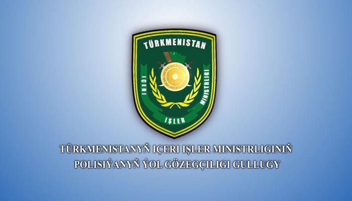 Türkmenistanda ýol hereketleri boýunça düzgün bozulmalara bellenilýän jerimeleriň sanawy