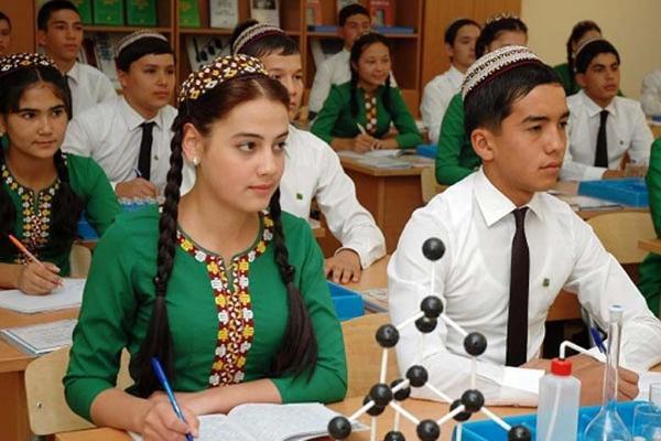 1-nji sentýabrda Türkmenistanda 159 müň okuwçy birinji synpa gider