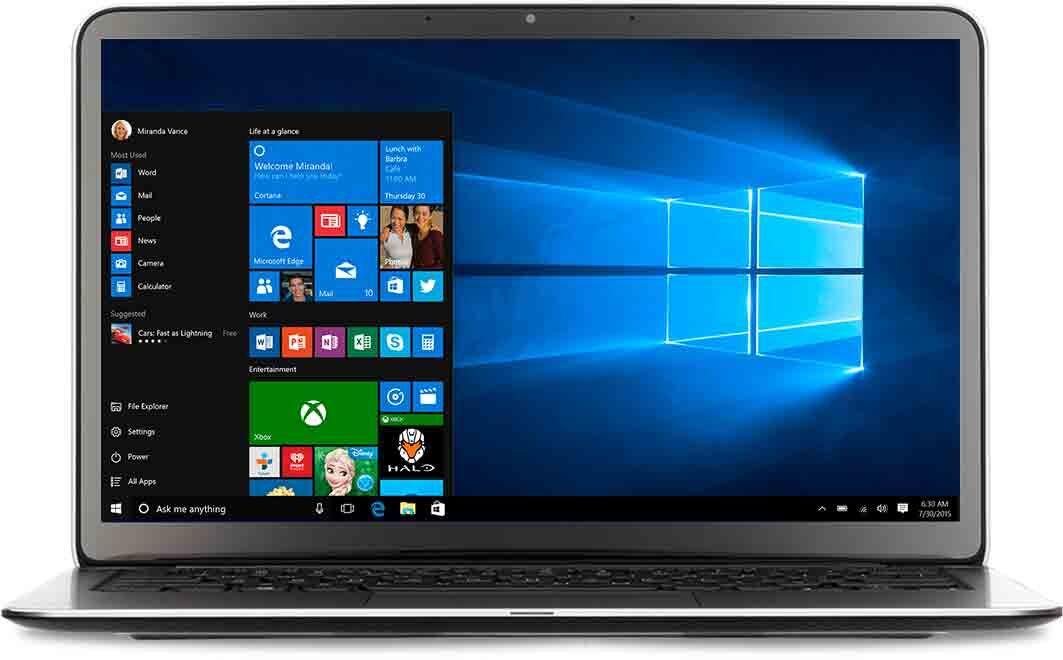 Компания Microsoft отменила отключение встроенного антивируса в Windows 10