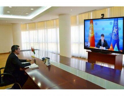 Состоялась встреча глав внешнеполитических ведомств Туркменистана и Кыргызстана