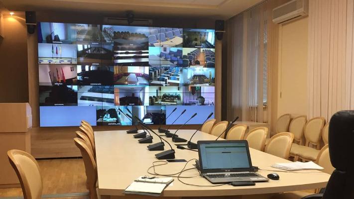 «Türkmenaragatnaşyk» wideokonferensiýalar üçin IT infrastrukturasyny döwrebaplaşdyrar