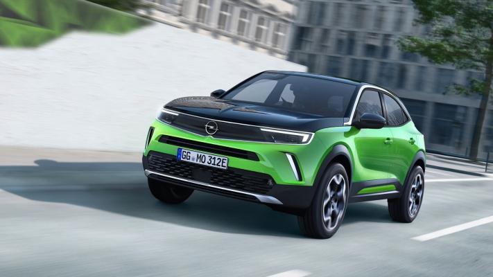 Opel nusgawy hereketlendirijili täze Mokkany tanyşdyrdy