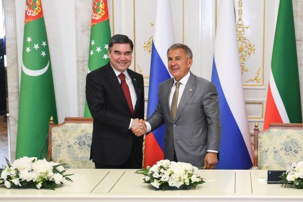 Президент Татарстана направил Бердымухамедову благодарственное письмо