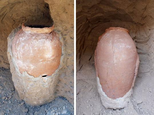 В Ашхабаде строители наткнулись на археологическую находку