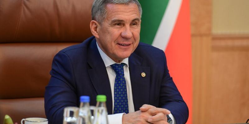 Türkmenistanyň Prezidenti Rustam Minnihanowy Prezident saýlawlarynda gazanan ýeňşi bilen gutlady