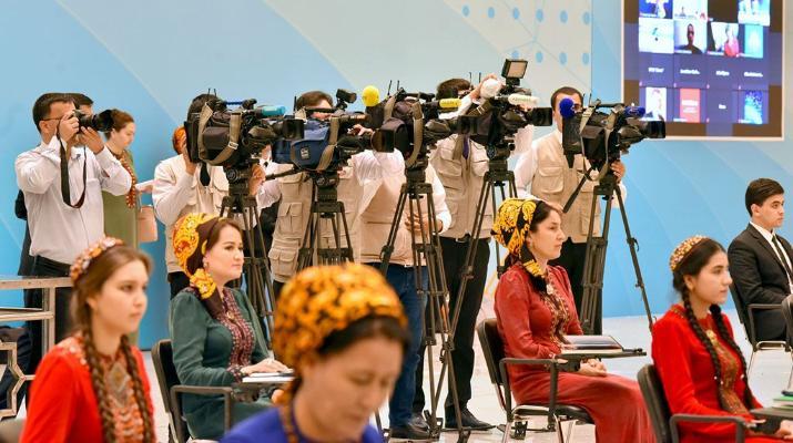 Состоялся международный медиафорум на тему достижении политики нейтралитета Туркменистана
