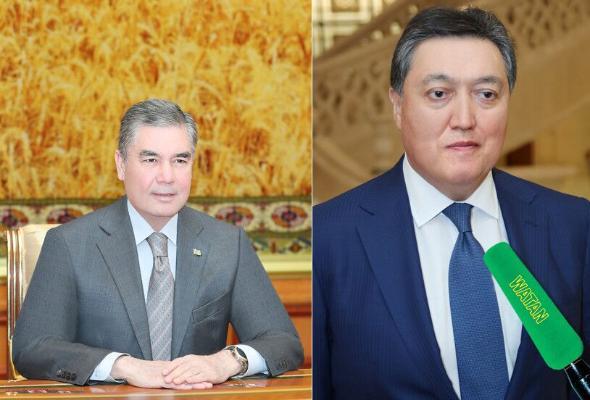 Türkmenistanyň Prezidenti Gazagystanyň Premýer-ministri bilen duşuşyk geçirdi