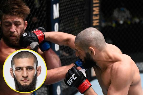 UFC-niň söweşijisi Çimaýew Nurmagomedow bilen deňeşdirilmegine teswir berdi