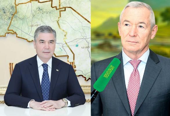 Туркменский лидер обсудил расширение взаимодействия с «ARETI»