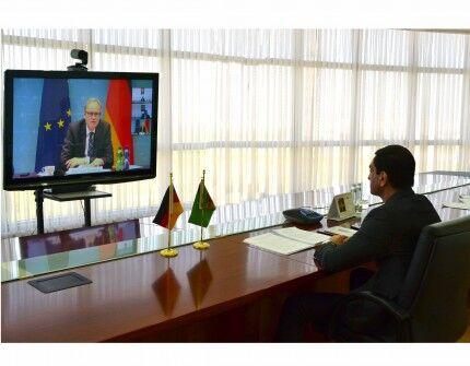 Состоялись политические консультации между Туркменистаном и ФРГ