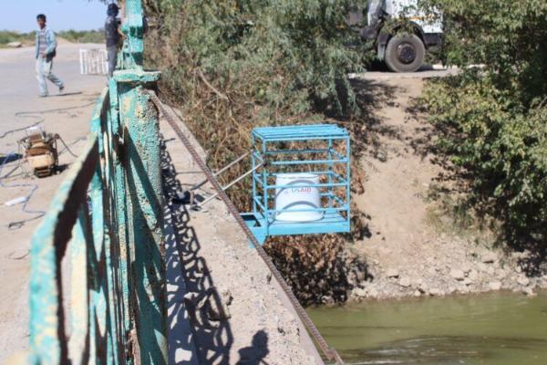 Вдоль реки Мургаб установят систему для автоматизированного мониторинга уровня воды