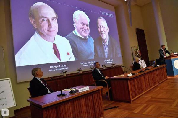 Нобелевская премия по медицине присуждена вирусологам из США и Великобритании