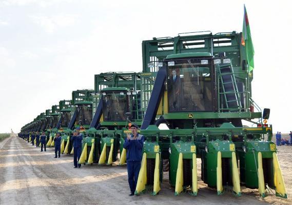 Туркменистан закупит запасные части и расходные материалы для сельхозтехники