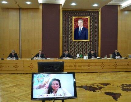 Türkmenistanyň BSG agza bolmagy bilen bagly meseleler maslahatlaşyldy