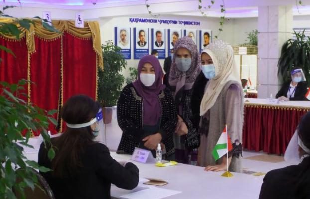 Täjigistanda prezident saýlawlary geçirildi