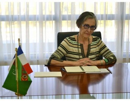 Türkmenistanda Fransiýanyň täze bellenen Ilçisi işläp başlady