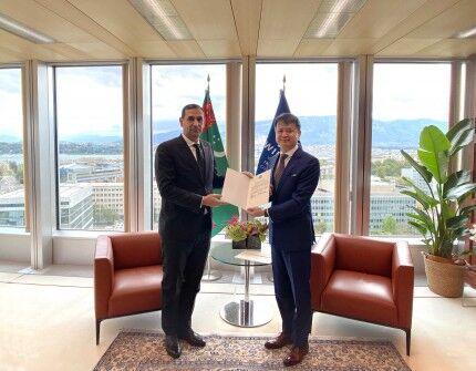 В Женеве прошла церемония вручения Инструмента о присоединении Туркменистана к Марракешскому договору