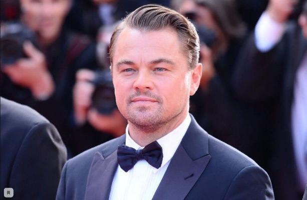 "Leonardo Di Kaprio ""Ýokaryk seretme!"" filmine surata düşer"