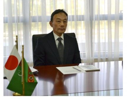 Ýaponiýanyň Türkmenistandaky Ilçisi ýurdumyzda diplomatik işini tamamlaýar