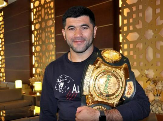 Ягшимурадов оставил титул чемпиона ACA в полутяжелом весе