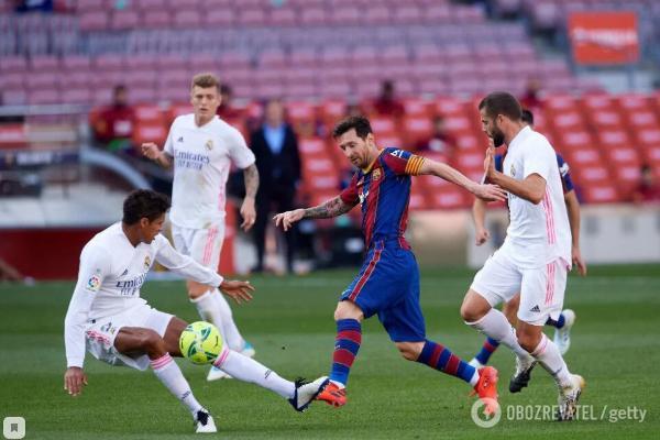 «Реал» в гостях обыграл «Барселону» и вышел на 1-е место в Ла Лиге