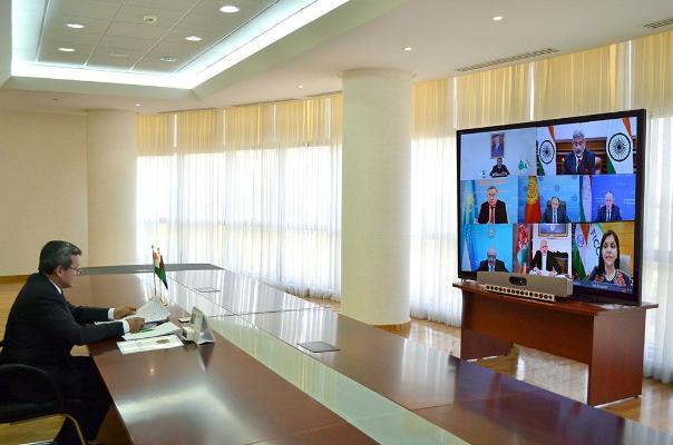 R.Meredow «Hindistan — Merkezi Aziýa» dialogynyň mejlisine gatnaşdy