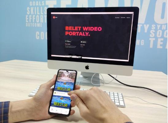 «Belet Video» programmasy YouTube-y türkmen ulanyjylaryna elýeterli etdi