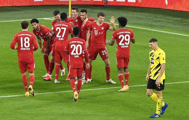 «Бавария» одержала тяжелейшую победу над дортмундской «Боруссией»