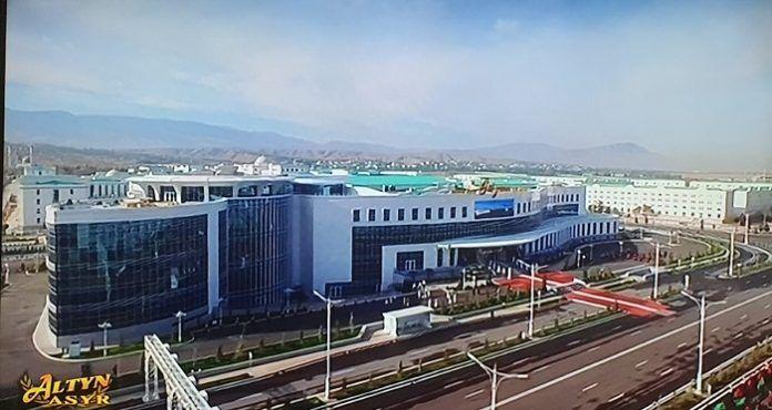 В Ашхабаде открылся новый Торгово-развлекательный центр «Gül zemin»