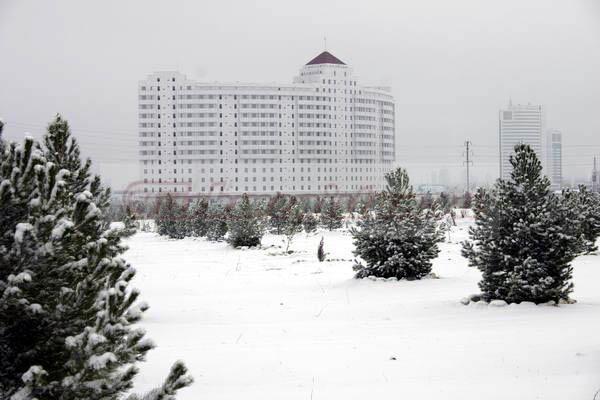 Türkmenistanda hepdäniň ahyrynda ilkinji gar ýagyp biler