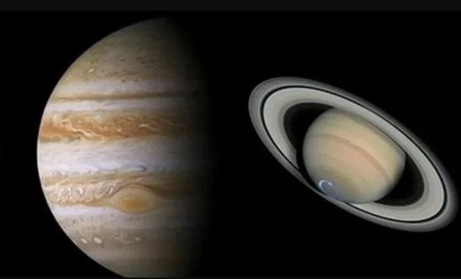 Сатурн и Юпитер сблизятся впервые за 800 лет