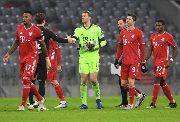 """""""Бавария"""" и """"Манчестер Сити"""" вышли в плей-офф Лиги чемпионов УЕФА"""