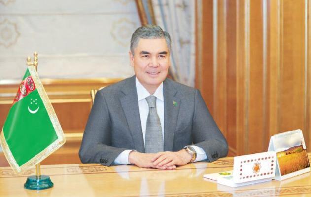 Türkmenistanyň Prezidenti professor Klaus Parhoferi kabul etdi