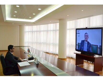 Türkmenistan we Russiýa owganara gepleşikleriň ýola goýulmagyna ýardam etmek meselesini maslahatlaşdy