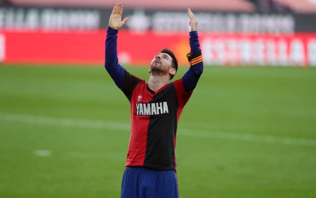 Месси посвятил Марадоне гол, «Барселона» разгромила «Осасуну»