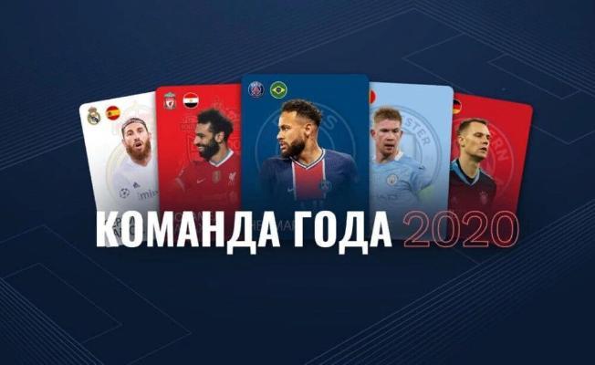 UEFA ýylyň toparyna 50 dalaşgäri yglan etdi
