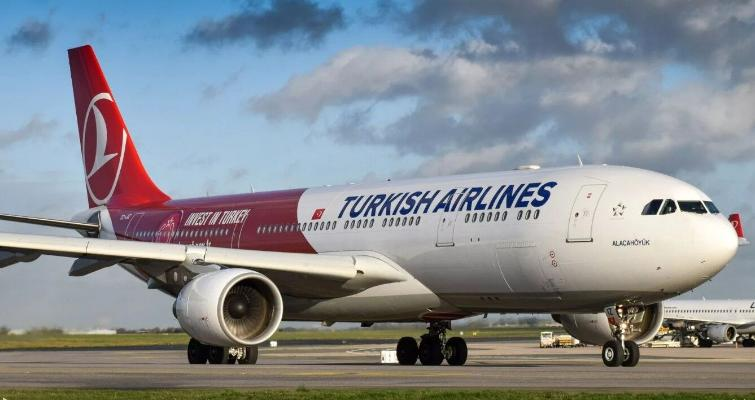 На пятницу запланирован спецрейс Turkish Airlines по маршруту Туркменабат-Стамбул